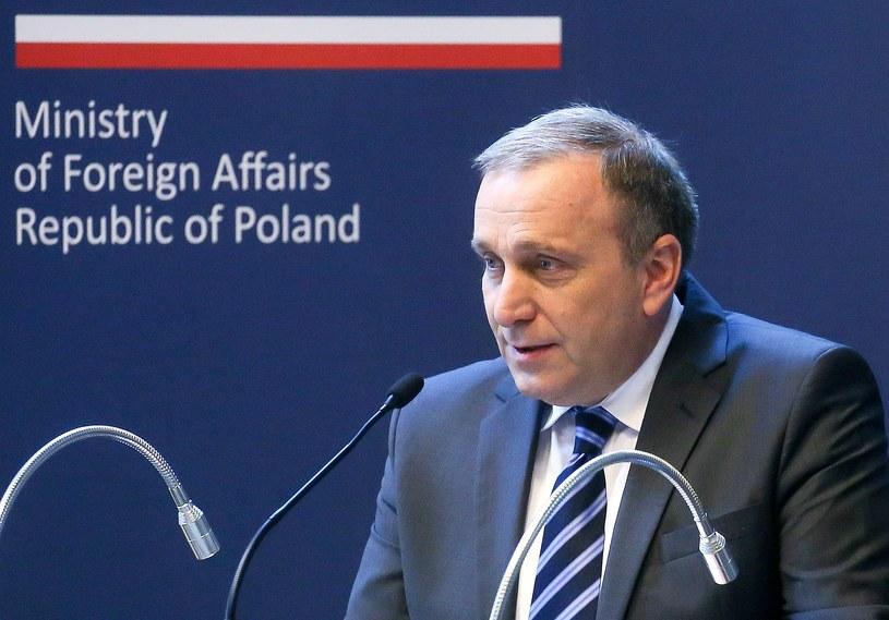Minister spraw zagranicznych RP Grzegorz Schetyna /Paweł Supernak /PAP