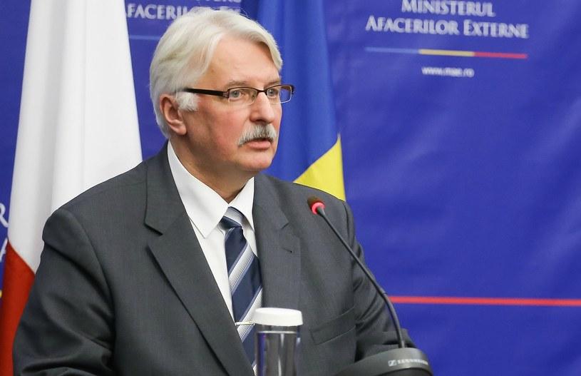 Minister spraw zagranicznych RP Witold Waszczykowski /Paweł Supernak  (PAP) /PAP