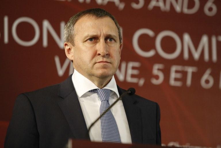 Minister spraw zagranicznych Ukrainy Andrij Deszczyca /AFP