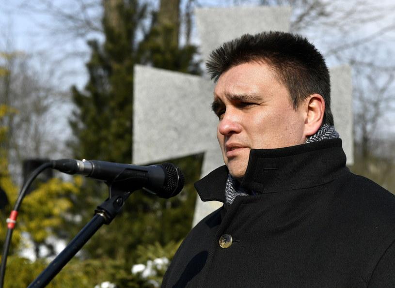 Minister spraw zagranicznych Ukrainy Pawło Klimkin /Darek Delmanowicz /PAP