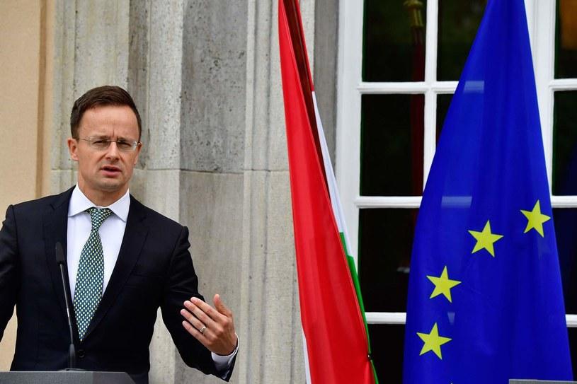 Minister spraw zagranicznych Węgier Peter Szijjarto /TOBIAS SCHWARZ /AFP
