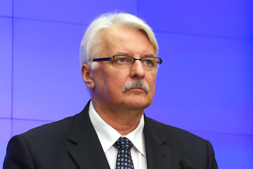 Minister spraw zagranicznych Witold Waszczykowski /Mariusz Grzelak /Reporter