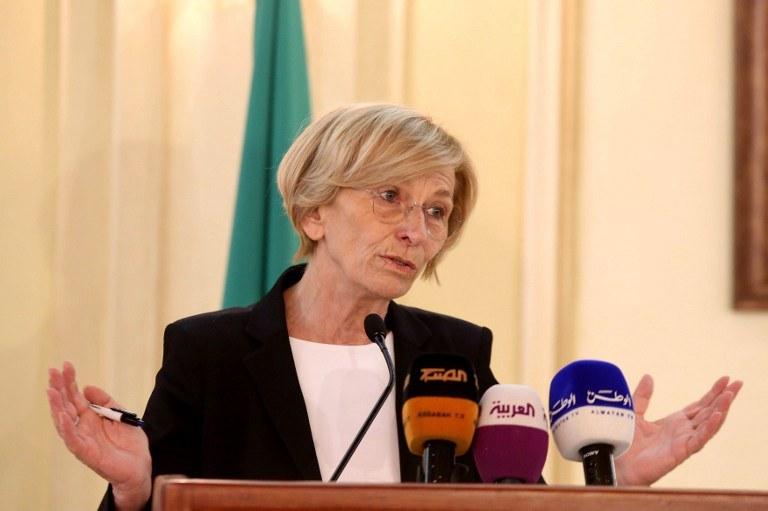Minister spraw zagranicznych Włoch Emma Bonino /AFP