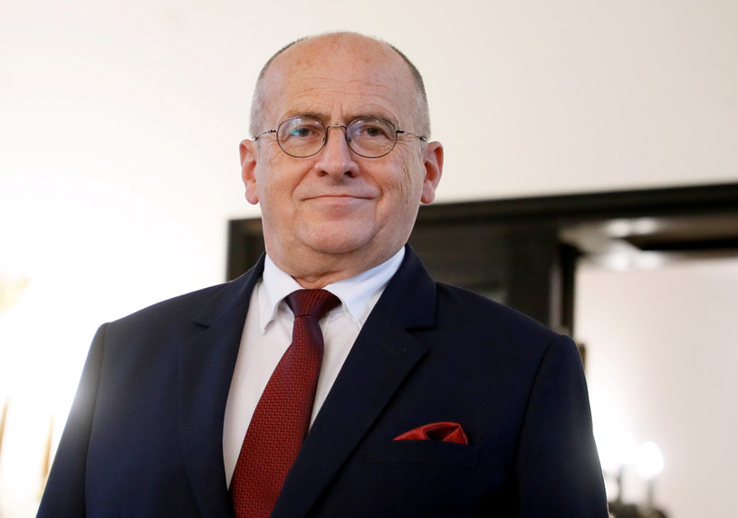 Minister spraw zagranicznych Zbigniew Rau /Piotr Molecki /East News