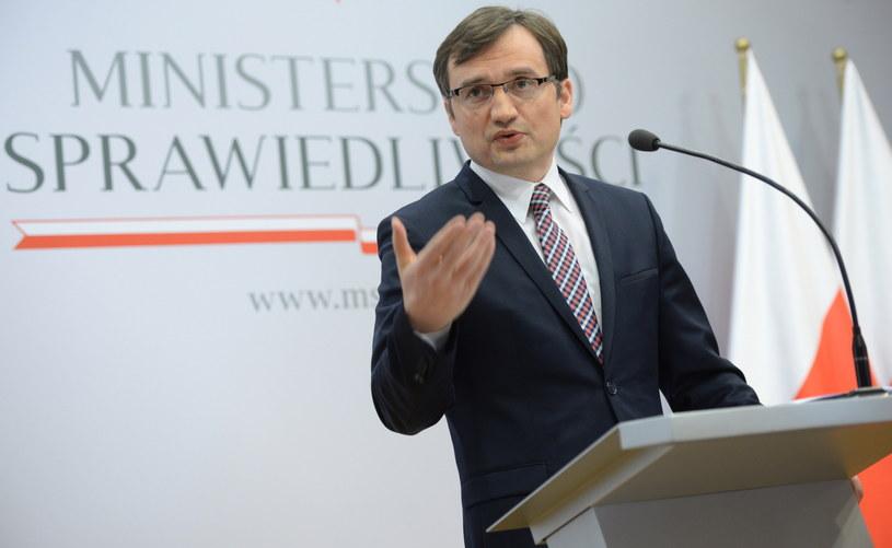 Minister sprawiedliwości i prokurator generalny Zbigniew Ziobro /Jacek Turczyk  (PAP) /PAP/EPA