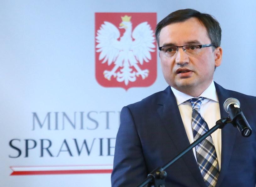 Minister sprawiedliwości i prokurator generalny Zbigniew Ziobro /Leszek Szymański /PAP