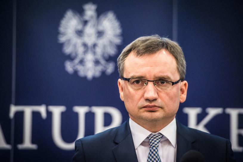 Minister sprawiedliwości i prokurator generalny Zbigniew Ziobro /Jacek Domiński /Reporter