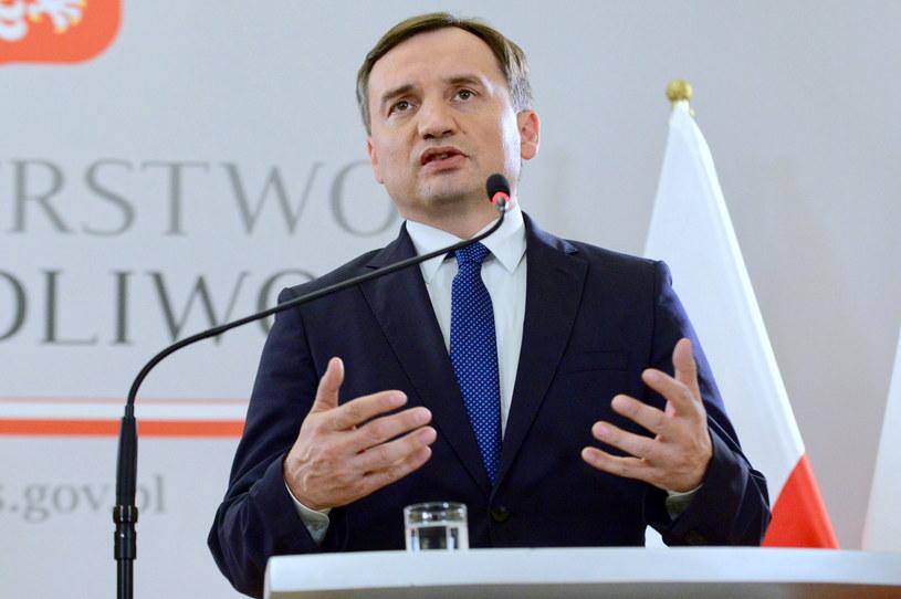 Minister sprawiedliwości i prokurator generalny Zbigniew Ziobro / Jakub Kamiński    /PAP