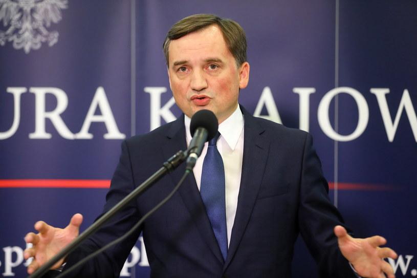 Minister sprawiedliwości i prokurator generalny Zbigniew Ziobro /Rafał Guz /PAP