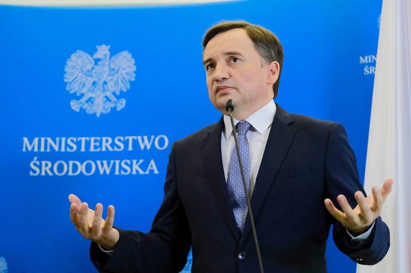 Minister sprawiedliwości i prokurator generalny Zbigniew Ziobro /Mateusz Marek /PAP