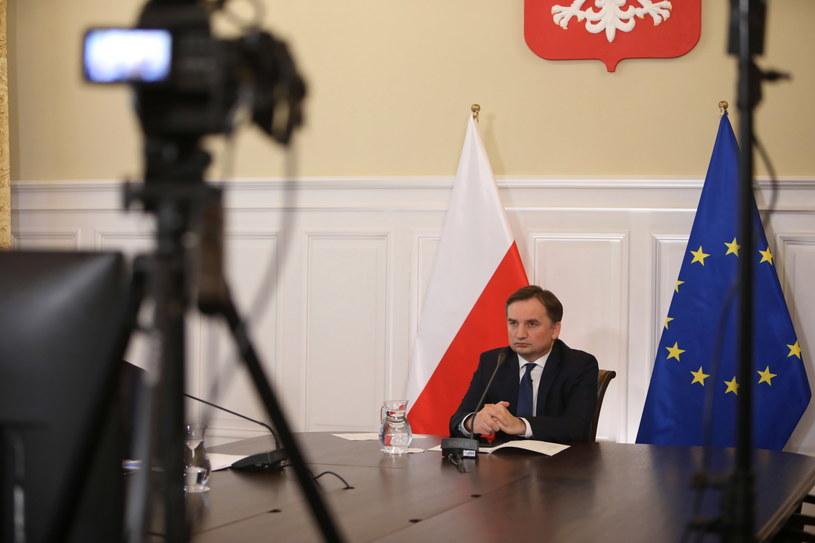 Minister sprawiedliwości i prokurator generalny Zbigniew Ziobro / Leszek Szymański    /PAP