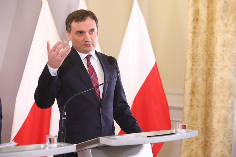 Minister sprawiedliwości i Prokuratur Generalny Zbigniew Ziobro /Stanisław Kowalczuk /East News