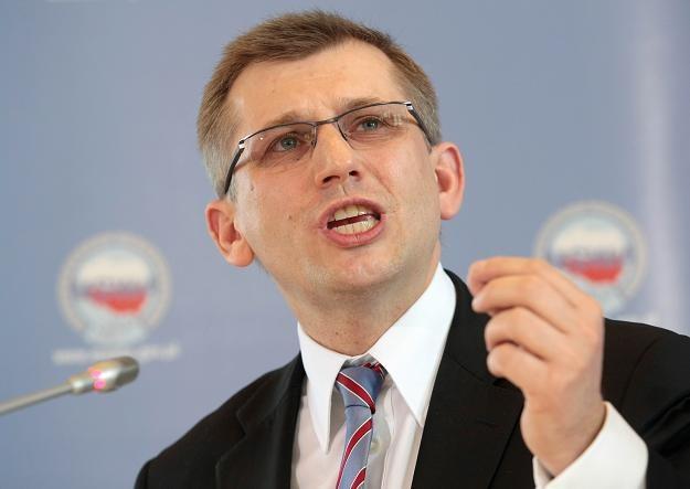 Minister sprawiedliwości Krzysztof Kwiatkowski. Fot. Leszek Szymański. /PAP