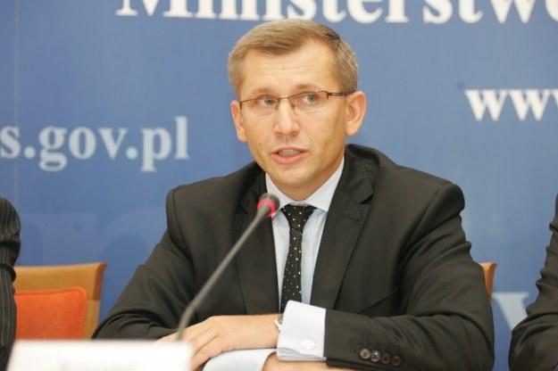 Minister sprawiedliwości Krzysztof Kwiatkowski / fot. P. Kowalczyk /Agencja SE/East News