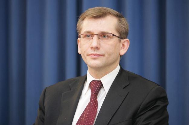 Minister sprawiedliwości Krzysztof Kwiatkowski,  fot. Piotr Kowalczyk /Agencja SE/East News