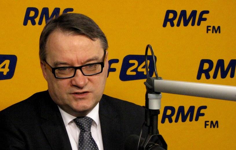 Minister sprawiedliwości Marek Biernacki /RMF