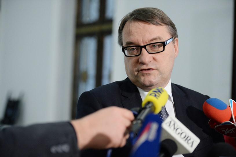 Minister sprawiedliwości Marek Biernacki /Jacek Turczyk /PAP