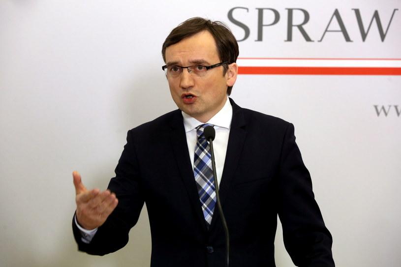 Minister sprawiedliwości, prokurator generalny Zbigniew Ziobro /Tomasz Gzell /PAP