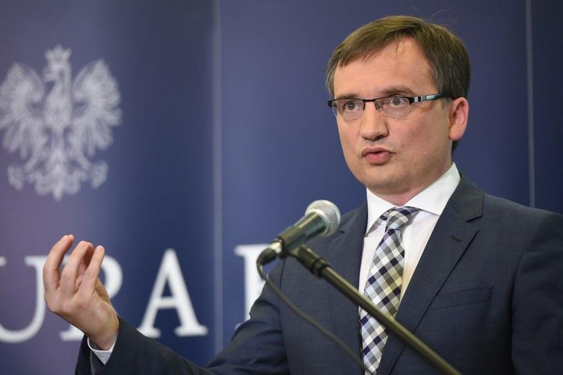 Minister sprawiedliwości - prokurator generalny Zbigniew Ziobro /Rafał Oleksiewicz /Reporter