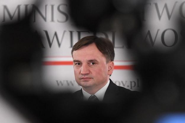 Minister sprawiedliwości, prokurator generalny Zbigniew Ziobro / Radek Pietruszka   /PAP