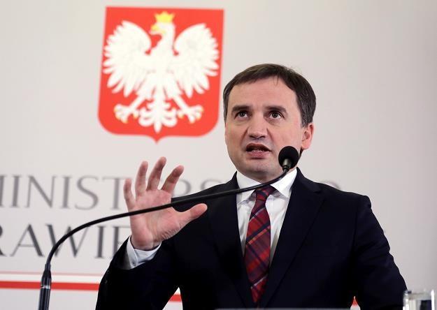 Minister sprawiedliwości, prokurator generalny Zbigniew Ziobro /PAP