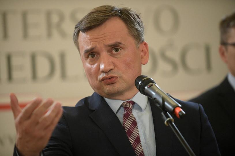 Minister sprawiedliwości, prokurator generalny Zbigniew Ziobro / Marcin Obara  /PAP