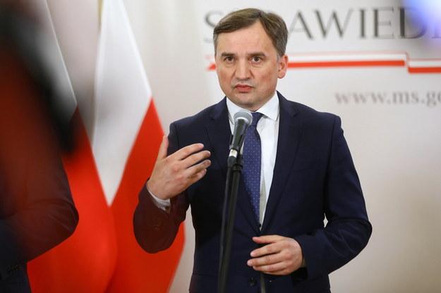 Minister sprawiedliwości, prokurator generalny Zbigniew Ziobro /Rafał Guz /PAP