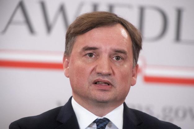 Minister sprawiedliwości, prokurator generalny Zbigniew Ziobro /Andrzej Lange /PAP
