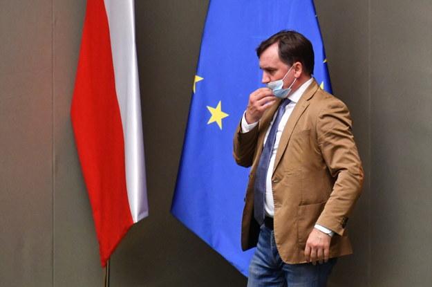 Minister sprawiedliwości, prokurator generalny Zbigniew Ziobro. /Piotr Nowak /PAP