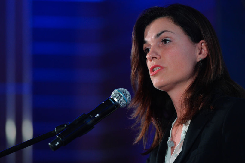 Minister sprawiedliwości Węgier Judit Varga /Artur Widak/NurPhoto /Getty Images