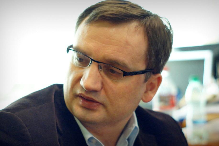 Minister Sprawiedliwości Zbigniew Ziobro, mimo zaproszenia, nie zjawi się na wysłuchaniu. /Michał Dukaczewski /RMF FM