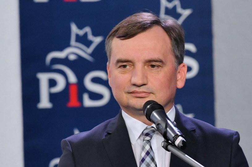 Minister sprawiedliwości Zbigniew Ziobro o liście ambasadorów: Nie potrzebujemy tego rodzaju rad i opinii ze strony zewnętrznych czynników / Radek Pietruszka   /PAP
