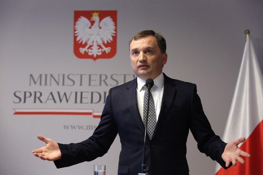 Minister sprawiedliwości Zbigniew Ziobro odwołał przed upływem kadencji trzy wiceprezes Sądu Okręgowego w Warszawie - największego sądu w Polsce /Tomasz Gzell /PAP