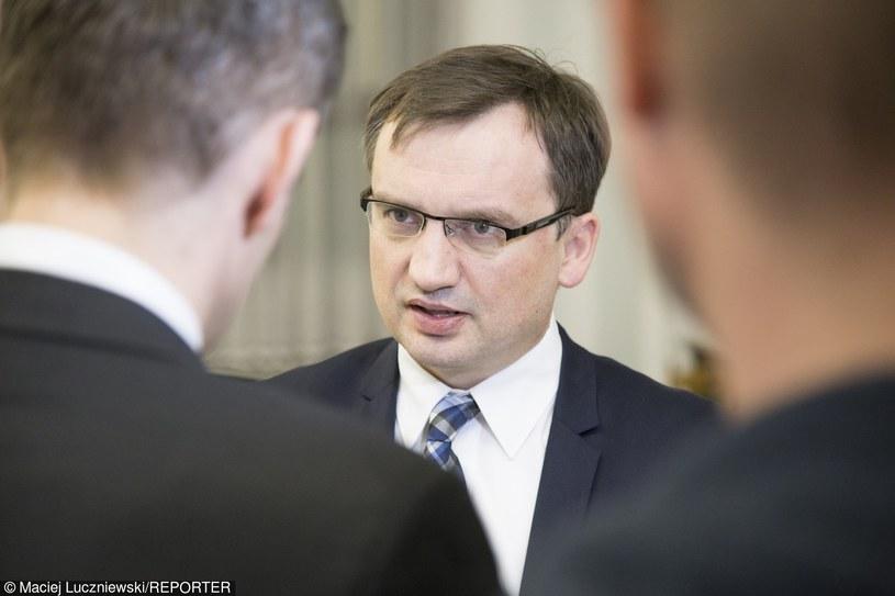 Minister sprawiedliwości Zbigniew Ziobro /Maciej Luczniewski /Reporter