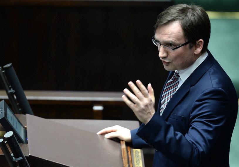 Minister sprawiedliwości Zbigniew Ziobro /Jacek Turczyk /PAP