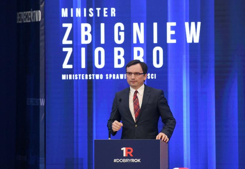 Minister sprawiedliwości Zbigniew Ziobro /Radek Pietruszka /PAP