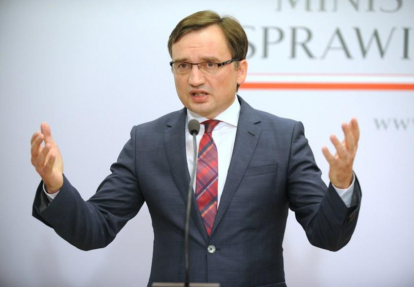 Minister sprawiedliwości Zbigniew Ziobro /Bartosz Krupa /East News