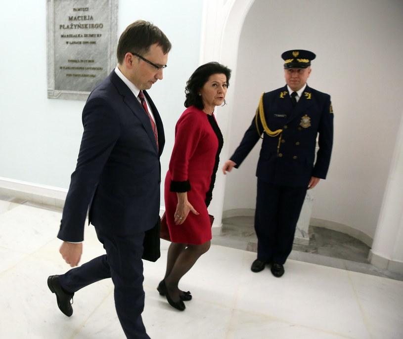 Minister sprawiedliwości Zbigniew Ziobro /Tomasz Gzell /PAP