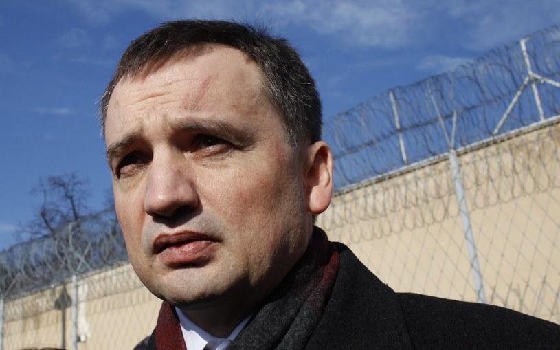 Minister sprawiedliwości Zbigniew Ziobro /Stefan Maszewski /Reporter