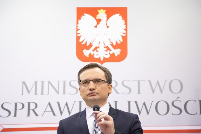 Minister Sprawiedliwości Zbigniew Ziobro /Maciej Łuczniewski /Reporter