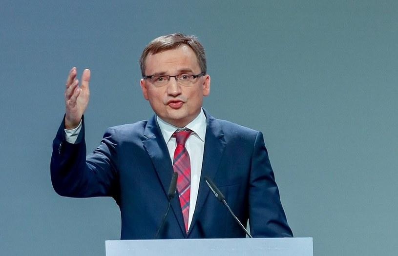 Minister sprawiedliwości Zbigniew Ziobro /Andrzej Iwańczuk /Reporter