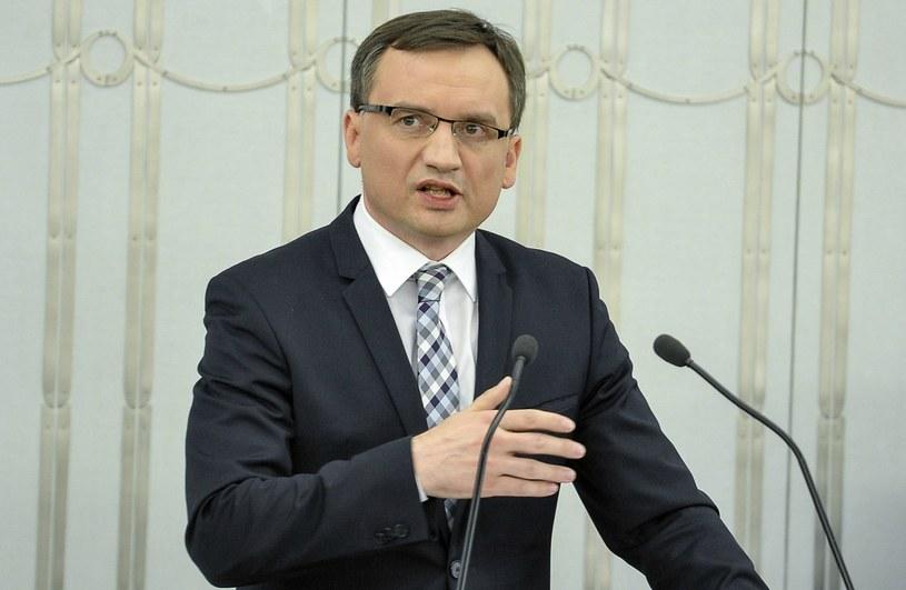 Minister sprawiedliwości Zbigniew Ziobro /Marcin Obara /PAP