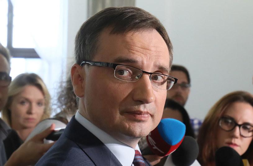 Minister sprawiedliwości Zbigniew Ziobro /Paweł Supernak /PAP