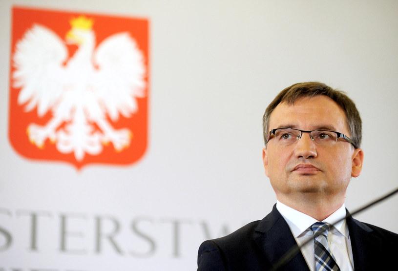 Minister sprawiedliwości Zbigniew Ziobro /Jan Bielecki /East News