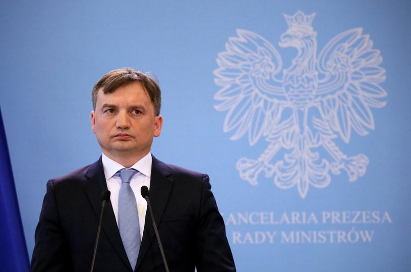 Minister sprawiedliwości Zbigniew Ziobro /Piotr Molecki /East News
