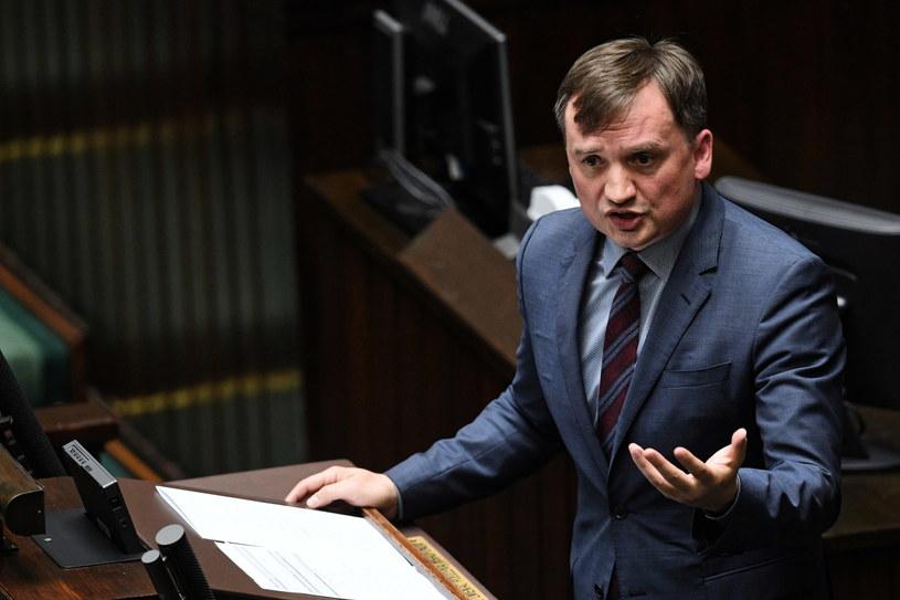 Minister sprawiedliwości Zbigniew Ziobro / Radek Pietruszka   /PAP