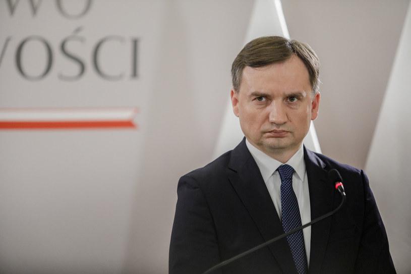 Minister sprawiedliwości Zbigniew Ziobro /Grzegorz Banaszak /Reporter