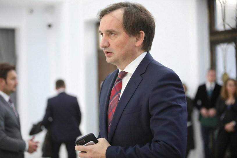 Minister sprawiedliwości Zbigniew Ziobro /Leszek Szymański /PAP