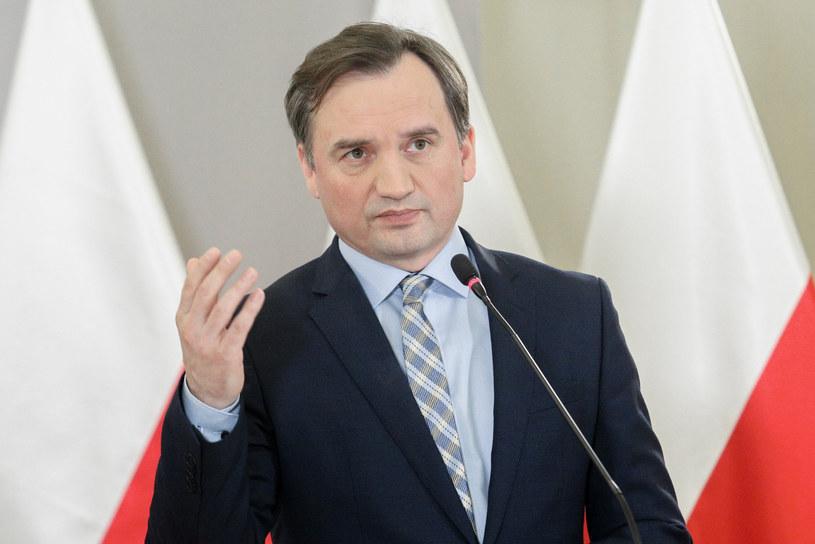 Minister sprawiedliwości Zbigniew Ziobro /Fot Tomasz Jastrzebowski /Reporter