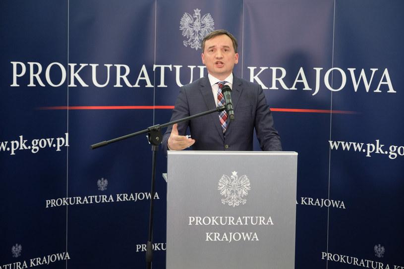 Minister sprawiedliwości Zbigniew Ziobro /Mateusz Grochocki /East News